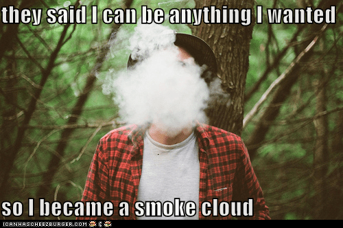 cloud hipsterlulz poof smoke smoking - 5488317440