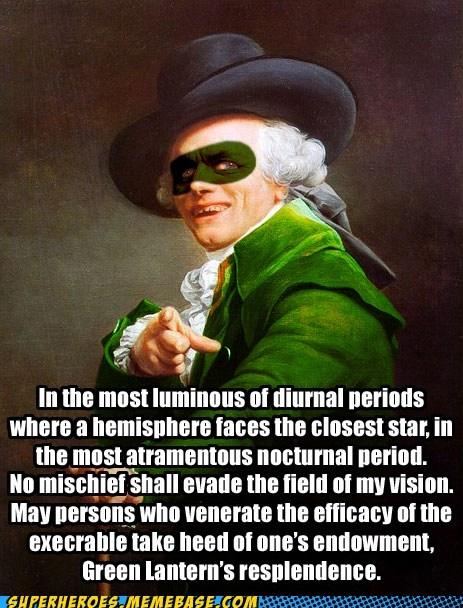 green lanter joseph decreux oath Super-Lols - 5488523520