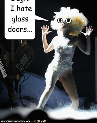 Ough! I hate glass doors...