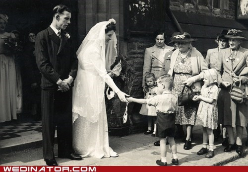 bride,children,funny wedding photos,Historical,retro,room,wedding