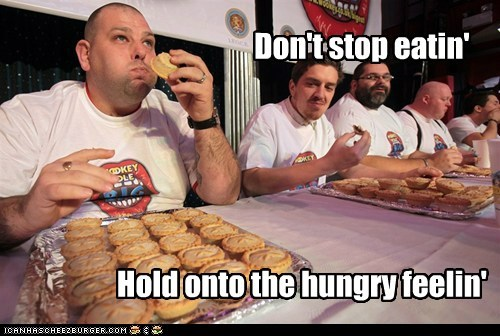 Competitive Eating dont-stop-believing eating food hungry - 5490183424