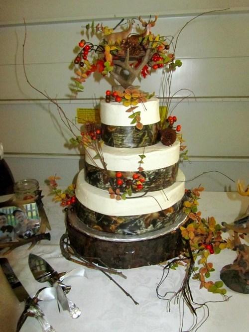 cake camouflage antlers deer hunting - 5490325504