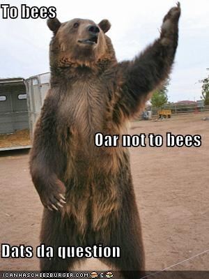 animals bear shakespear to be or not to be - 5490445568