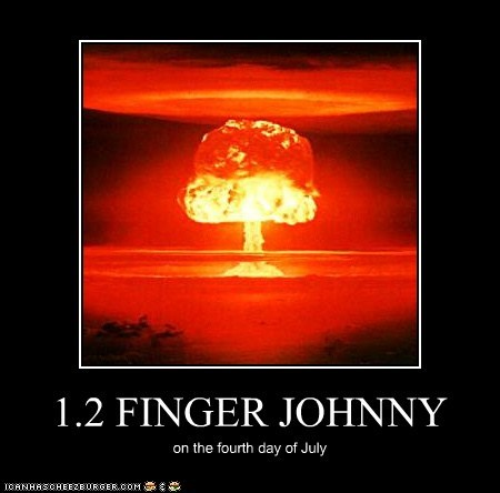 1.2 FINGER JOHNNY on the fourth day of July