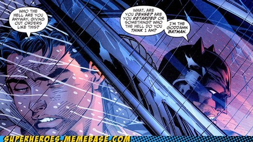 angry batman dialogue robin Straight off the Page - 5490613248