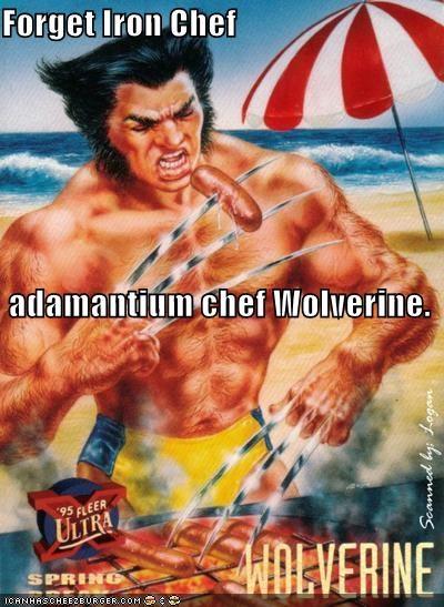 adamantium,iron,sausage,Super-Lols,wolverine