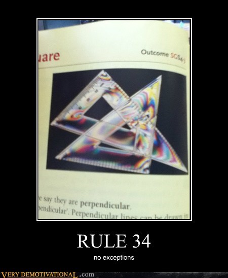 hilarious math no exceptions Rule 34 Square - 5491140608
