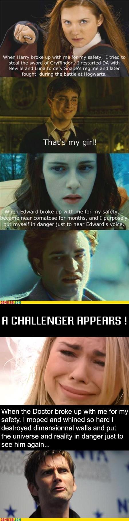 best of week break ups doctor who Harry Potter movies TV twilight - 5491194368
