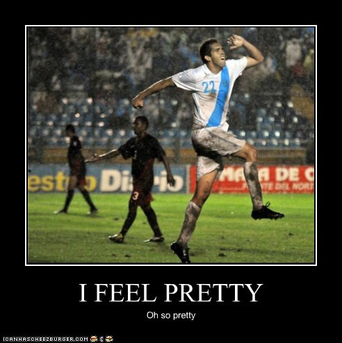 athlete athletics football happy i feel pretty jumping skipping soccer sports Up Next in Sports - 5491445504