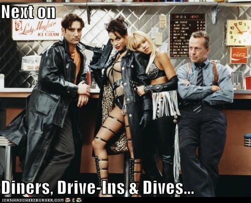 bruce willis Clive Owen diners drive-ins and dives jessica alba restaurants Rosario Dawson sin city - 5491876096