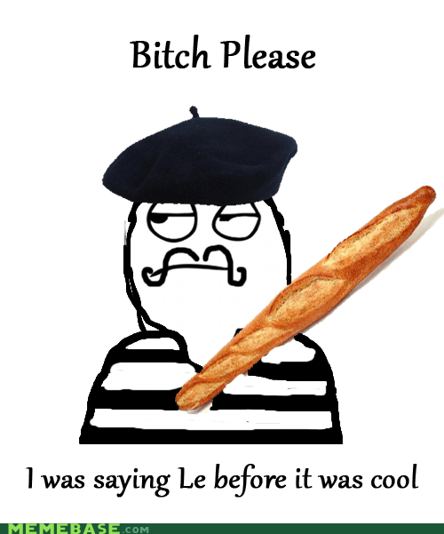 bread,french,le,please,Rage Comics