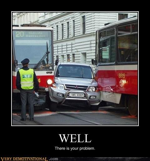 car,idiots,problem,train