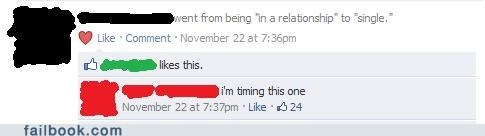 oh snap,relationship status,your friends are laughing at you