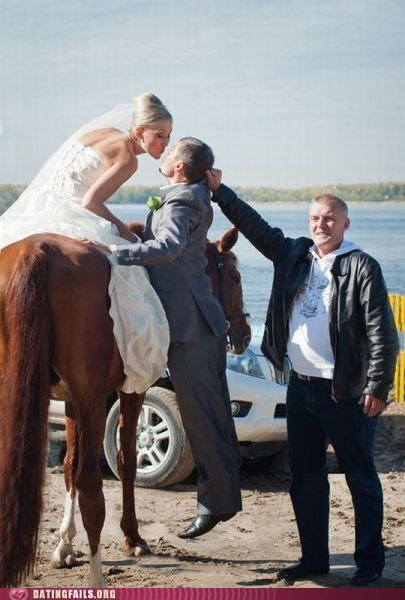 horse lifting up short We Are Dating wedding - 5492267776