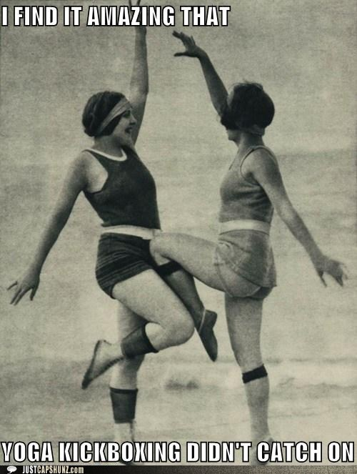 aerobics caption contest vintage women - 5492334592