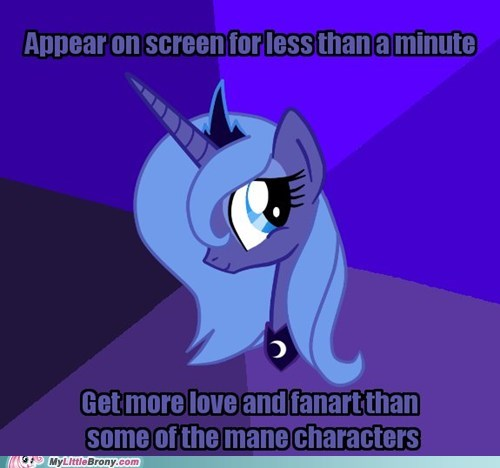 amazing best character canterlot Fan Art luna meme royal voice to the moon - 5492338944