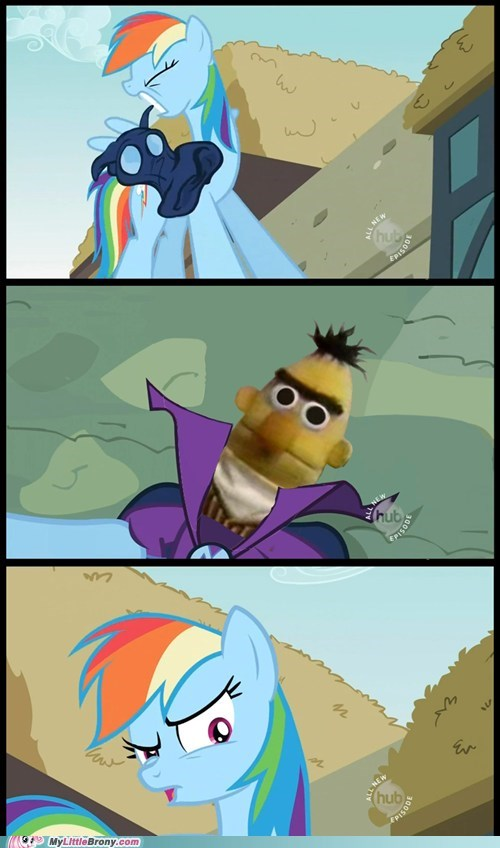 bert comic mare do well meme rainbow dash unmasked - 5492541952