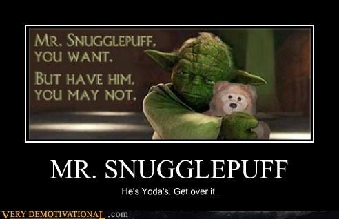 hilarious love mr-snugglepuff yoda - 5492750592