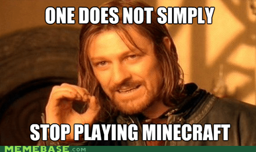 Memes,minecraft,mordor,one does not simply,simply,video games