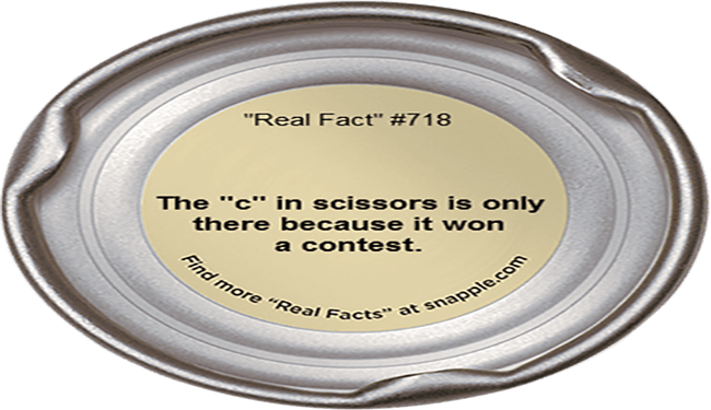 snapple funny true facts - 5492997