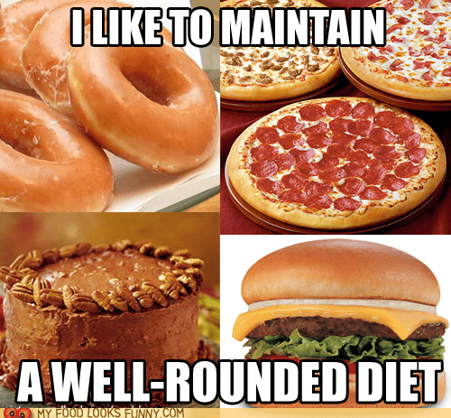burger,cake,circles,diet,donuts,pizza,round