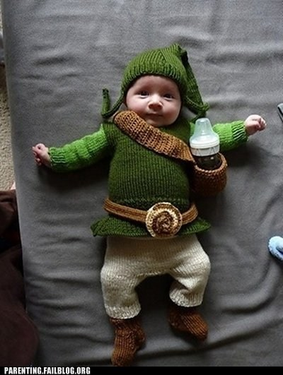 costume,legend of zelda,nerdgasm,nintendo,Parenting Fail,parenting WIN,sweater,video games,zelda