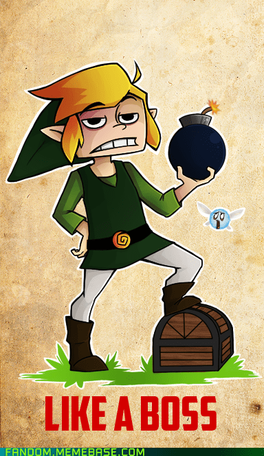 Fan Art Like a Boss link video games zelda - 5493182208