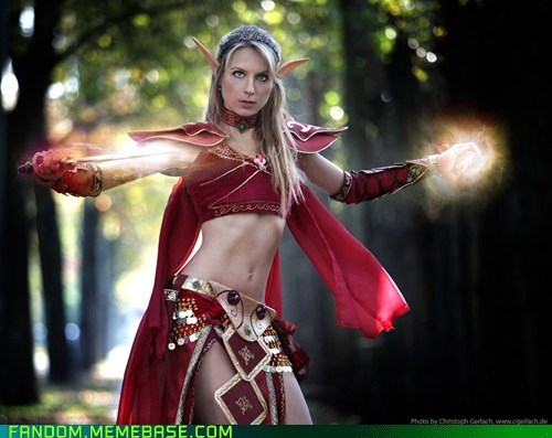 blood elf cosplay world of warcraft WoW - 5493262592