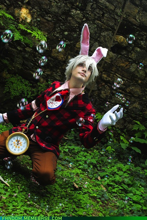 Alice in the Country of Hearts cosplay Heart no Kuni no Alice peter white - 5493277440