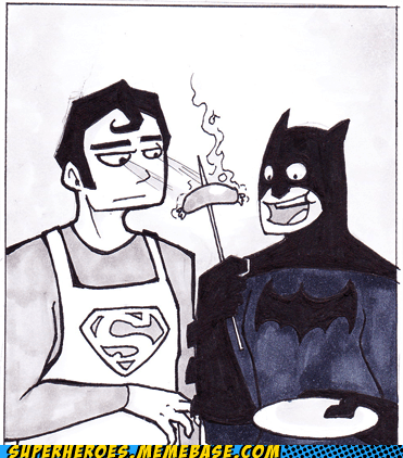 Awesome Art batman chef cook superman - 5493294848