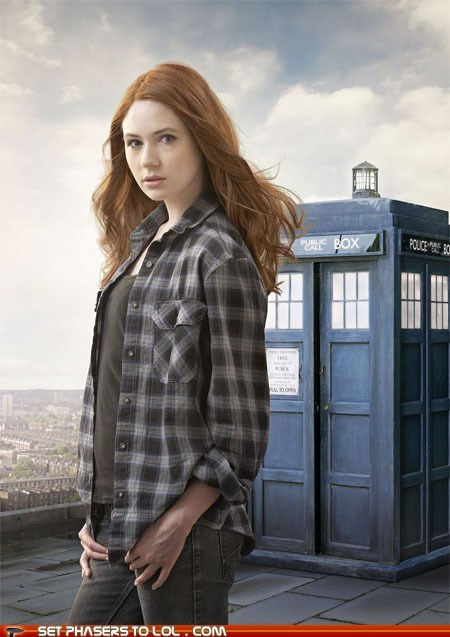 amy pond happy birthday karen gillan tardis - 5493326848
