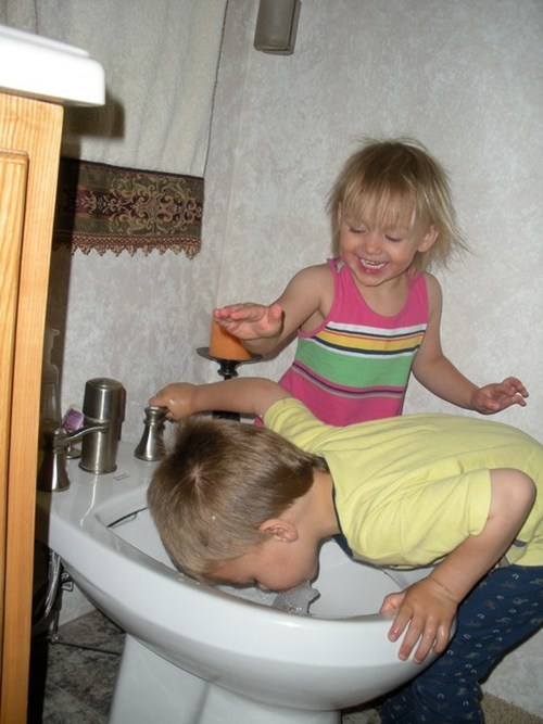 bidet,drinking fountain,gross,kids are dumb,Parenting Fail,toilet,whoops