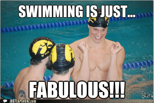 excited fabulous sport swim swimmer swimming - 5493541376