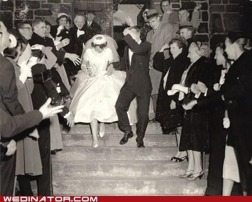 1940s bride funny wedding photos groom Historical vintage - 5493579776