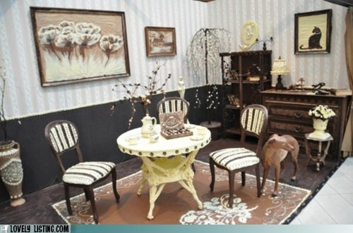 art carved chocolate furniture room - 5493628416