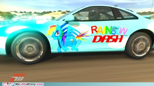 20 20 Percent Cooler awesome forza 3 rainbow dash video games - 5494325248