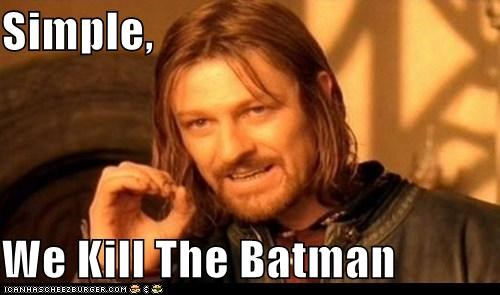 Boromir kill Lord of the Rings sean bean simple - 5494839808