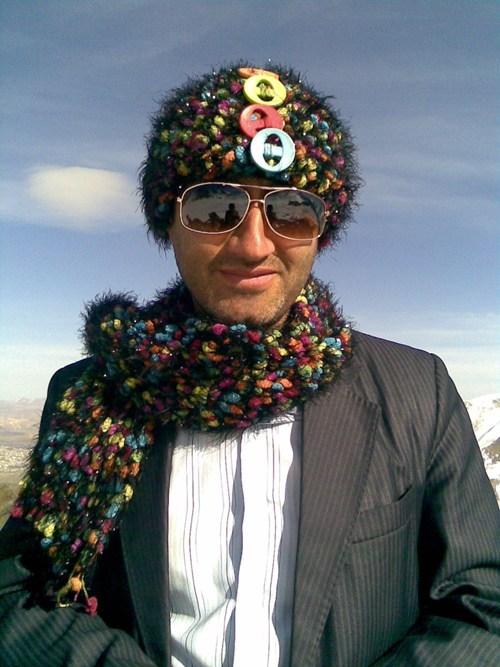 fuzzy snake hats scarfs - 5495232000