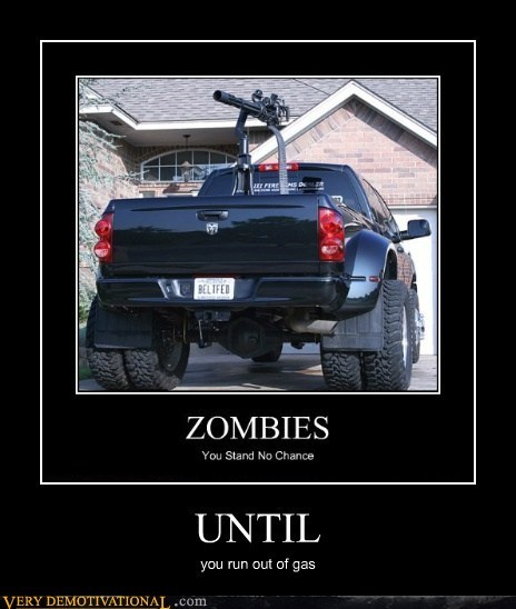 bullets,gas,Pure Awesome,truck,zombie