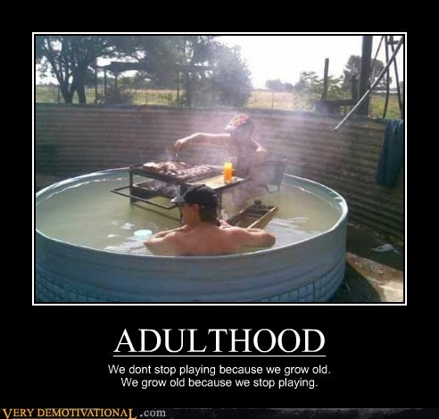 adult grownups old play time Pure Awesome