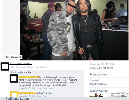 Criss Angel,Dave Navarro,mistaken identity,Photo,trololo,umad