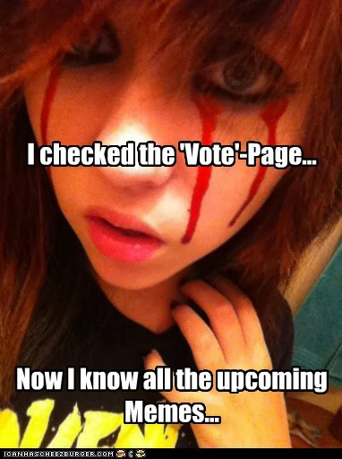 emolulz,First World Problems,Memes,self referential,vote page