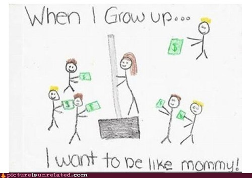 best of week drawing profession stripper when I grow up wtf - 5495959808