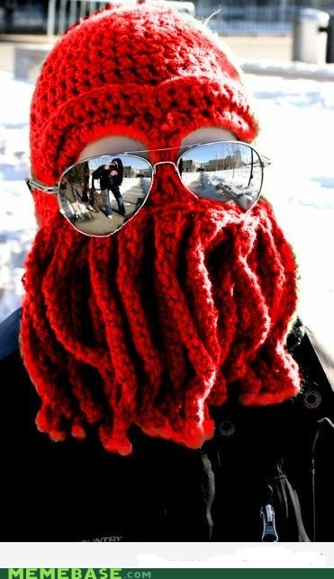 cap,glasses,Knitta Please,rad,Zoidberg