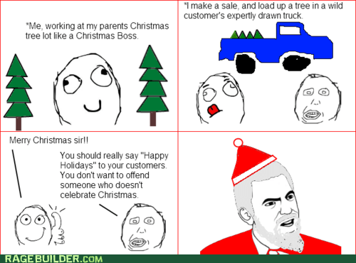best of week,christmas,christmas tree,happy holidays,holidays,Rage Comics