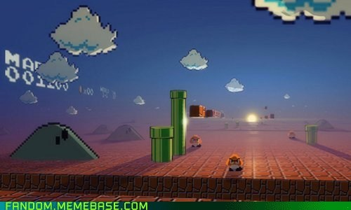 Fan Art mario Super Mario bros video games - 5496366592