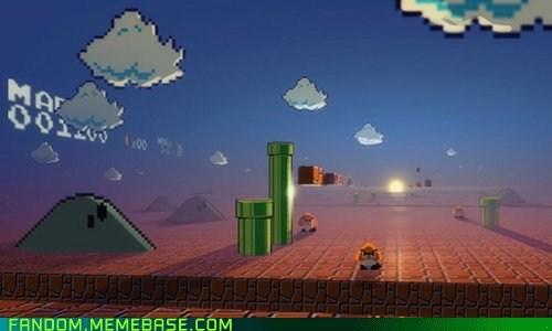 Fan Art mario Super Mario bros video games - 5496366592