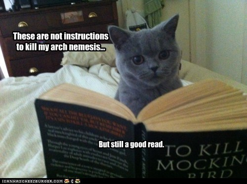 These are not instructions to kill my arch nemesis... But still a good read.