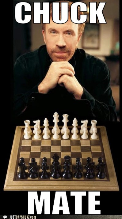 checkmate chess chuck norris chuckmate - 5496434176