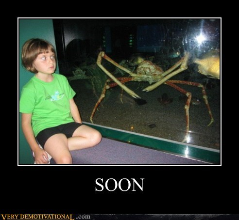 crab kid SOON Terrifying wtf - 5496675584